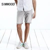 SIMWOOD 2019 New Summer Men Denim Shorts Casual shorts jeans Fashion Cotton Plus Size Brand Clothing Free Shipping 180215