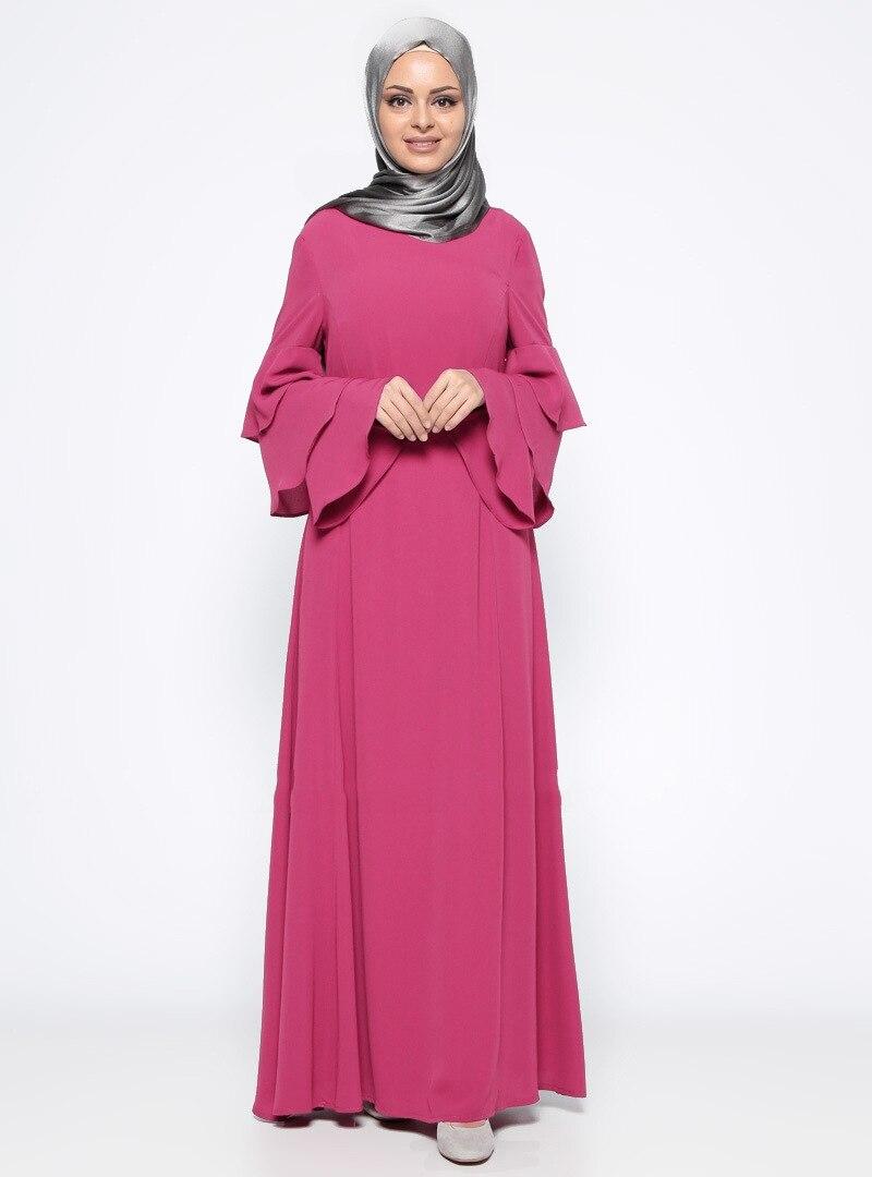 6be1a0a04fc Abaya Cardigan elegant women s muslim maxi dress abaya cardigan patchwork  islamic