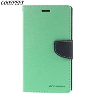2015 New Luxury Original Mercury Leather Case For Samsung Galaxy Note Edge N915 With Card Slots