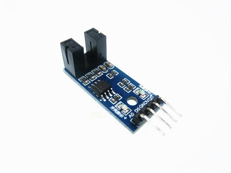 10 Stücke 4 PIN IR Infrarot Speed Sensor Modul Nut Kopplermodul 3,3 V-5 V
