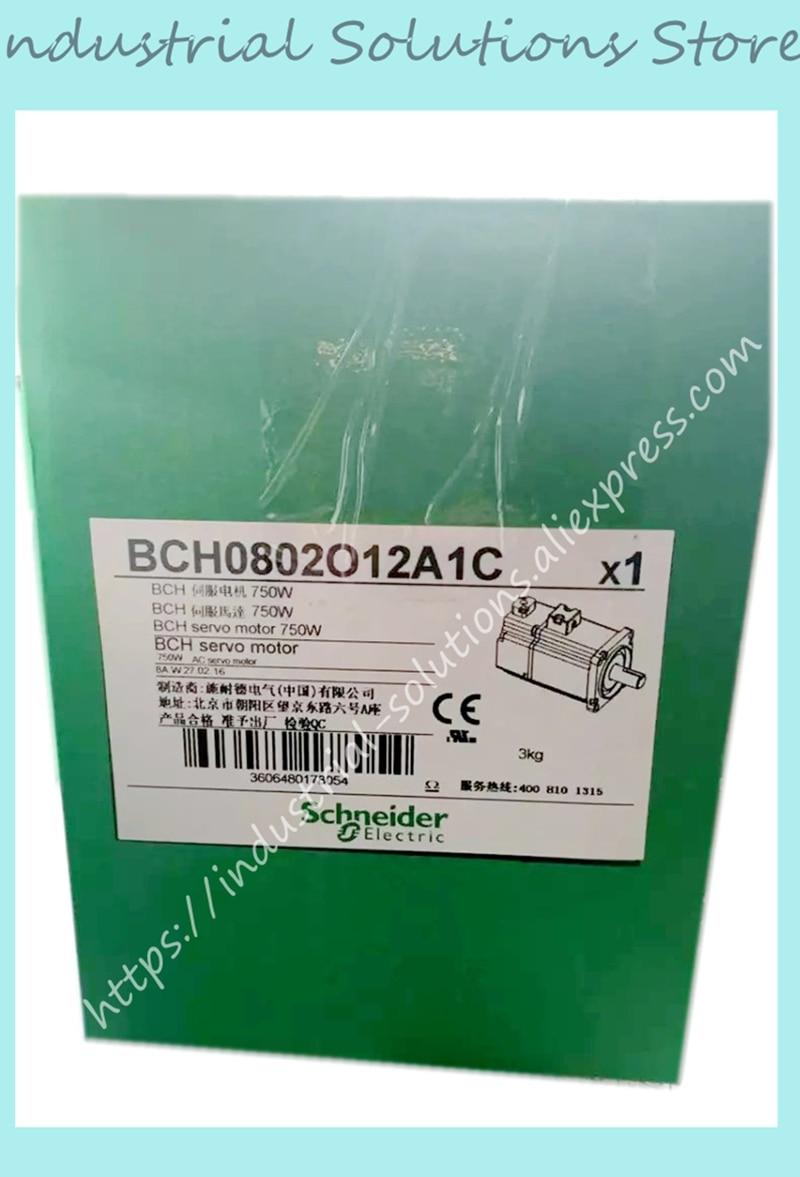 New Original AC Servo Motor BCH0802O12A1C 1set glass