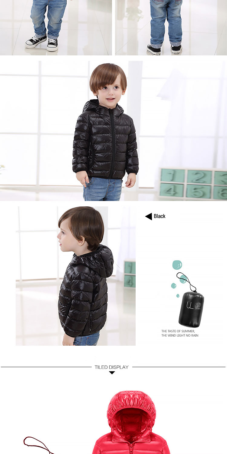 HTB1AtotFAyWBuNjy0Fpq6yssXXaV - Children Down Jackets New 90% White Duck Down Hooded Kids Winter Jackets for Boys Girls Ultra Light Portable Winter Coat
