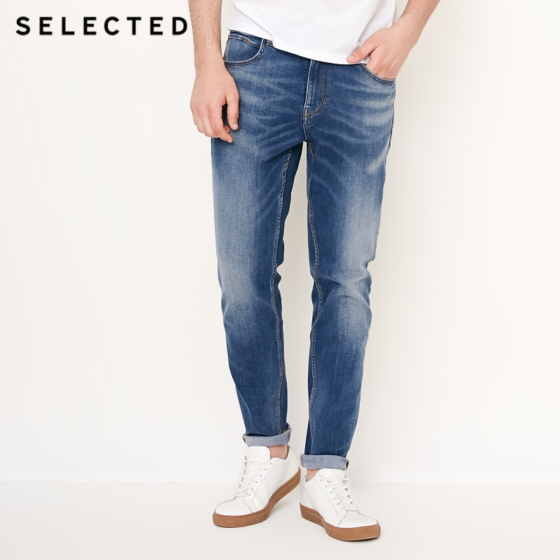 SELECTED The New Men Fall Environment-friendly Fabric Leisure Tapered   Jeans   Fashion Stylish S | 418332508