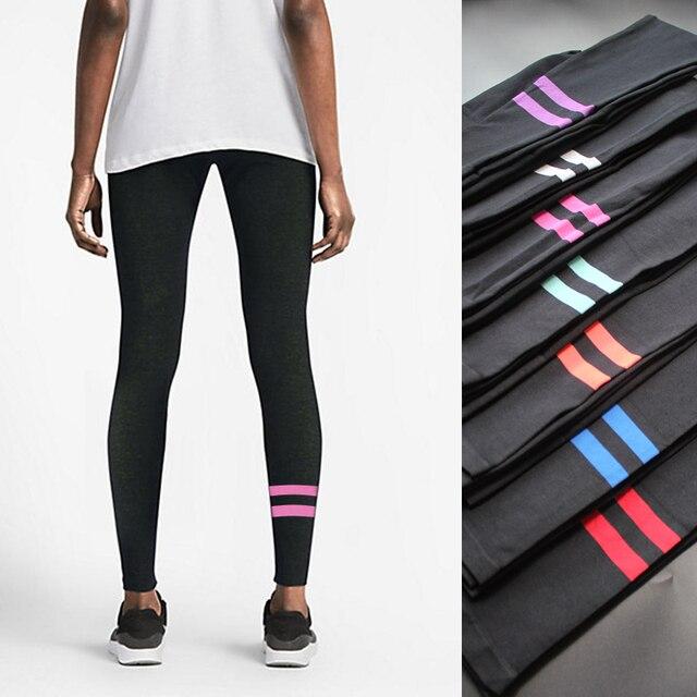 NORMOV 7 Colors M-L Workout Leggings Women Cotton Active Legging Adventure Time Leggins Fashion Bodybuilding Leggings Women
