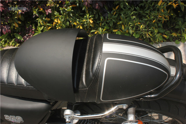 MATT Black Sale Universal CAFE RACER Motorcycle Rear Seat Cover Cowl Solo Motor
