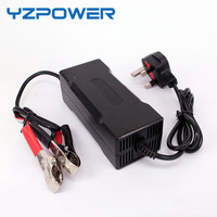 YZPOWER 43.8V 3A Smart LifePO4 Battery Charger for 36V LifePO4 E bike E car e Battery