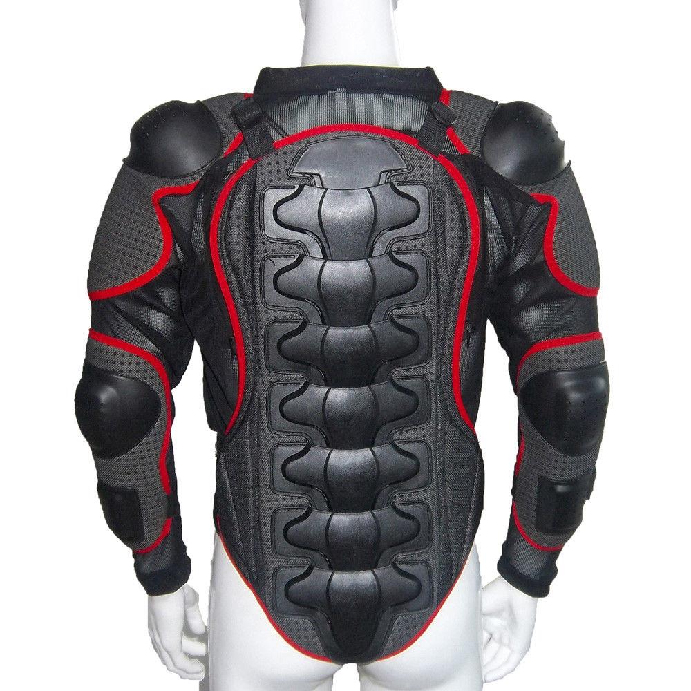 2018 Heißer Verkauf Radfahren Mountainbike Motorrad Körper Rüstung Jacke Motocross Full Body Protector Zurück Taille Racing Schutz Getriebe Jacken Schutzausrüstung
