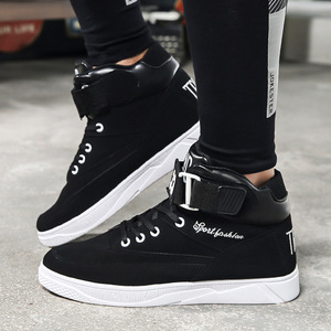 Image 5 - Mazefeng 2018 Spring Men Casual shoes Hard Wearing high top Shoes Men Sneaker Lace up Trend Men Flats Shoes Breathable Male Flat