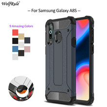 For Cover Samsung Galaxy A8S Case TPU & PC Armor Bumper Protective Phone Case For Samsung Galaxy A8S Cover For Samsung A8S 6.4'' protective tpu pc bumper frame for samsung galaxy s5 mini green
