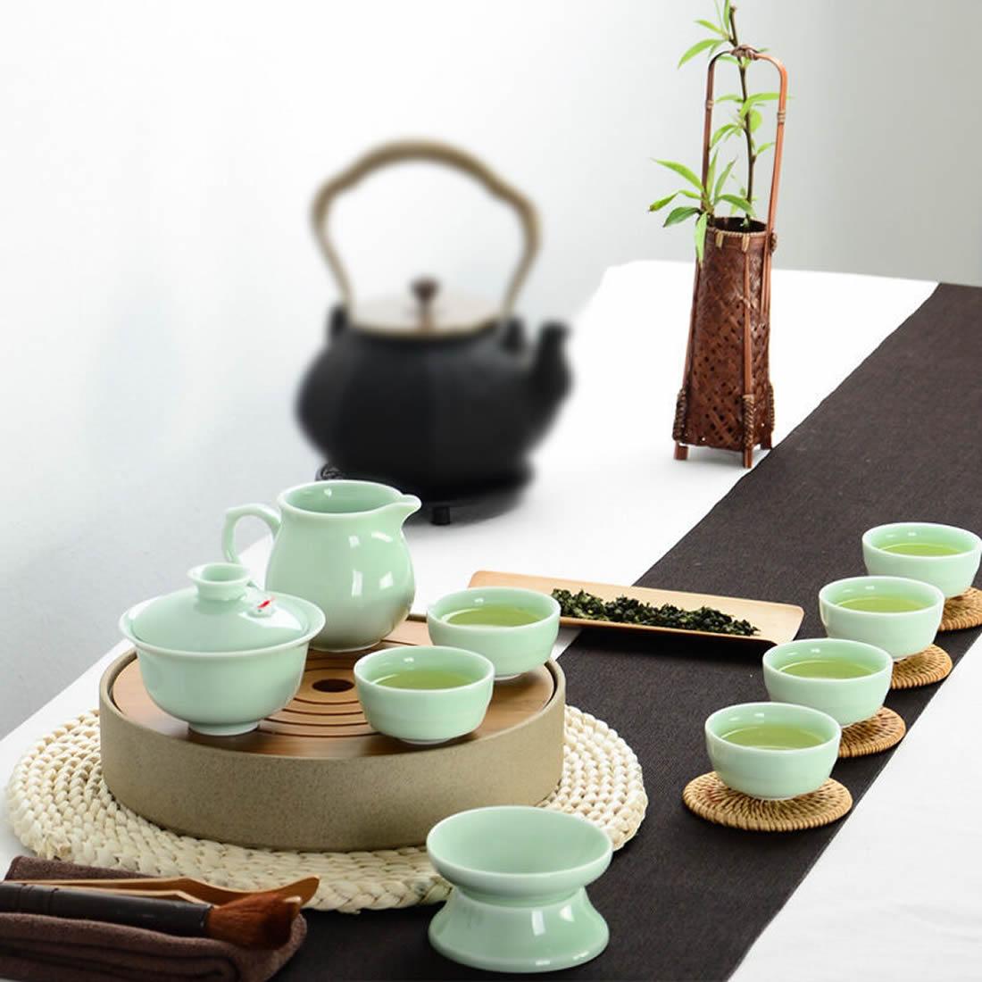 Tea Sets Porcelain China Chinese Kung Fu Tea Set Ceramic