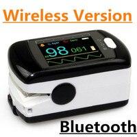 Цветной OLED AH 50EW Здоровья CE FDA Звуковая Сигнализация Палец Пульсоксиметр Кислорода SPO2 Монитор USB Bluetooth для Беспроводной Программного Обеспеч