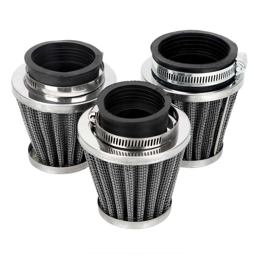 LEEPEE универсальный зажим на очиститель воздушного фильтра 39/42/50/мм размер мотоцикла Грибная головка воздушный фильтр мотоциклетные фильтры