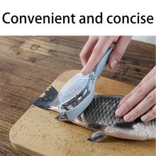 Household kitchen tools with cover fish scales shaver hand scale removal