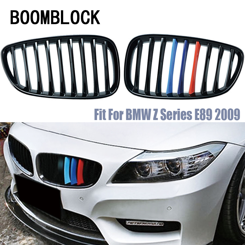 Car Kidney Front Bumper Racing Grills For Z4 E89 BMW M Performance Accessories Motorsport Z4 20i 23i 28i 30iCar Kidney Front Bumper Racing Grills For Z4 E89 BMW M Performance Accessories Motorsport Z4 20i 23i 28i 30i
