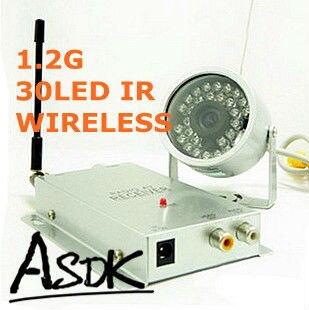 bilder für Audio 1/4 CMOS 420TVL Wasserdichte vandalensichere Außen Nachtsicht Video Wireless 30IR Farbe Überwachungskamera