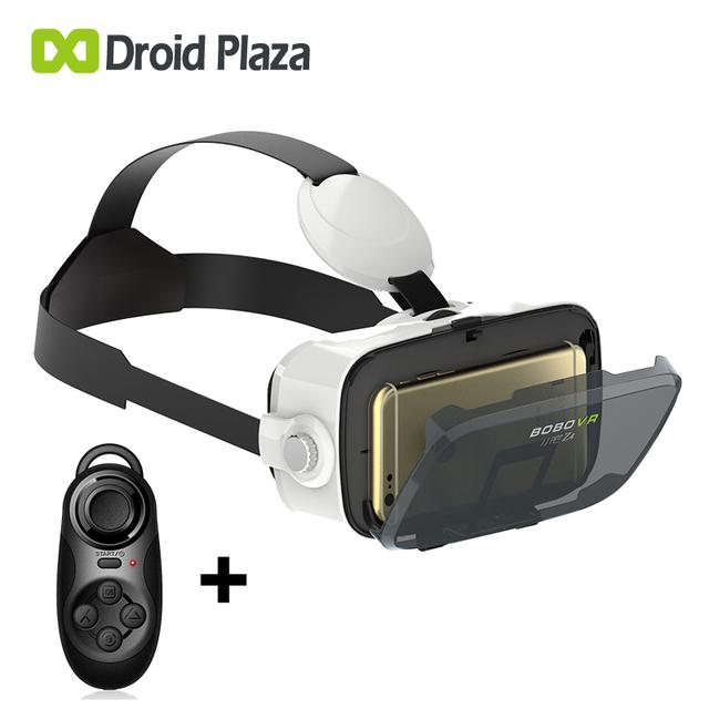 Nueva bobovr z4 mini 3d de realidad virtual gafas de cartón vr vr cuadro de la cabeza de montaje para iphone 6 6 s plus y android 4.7-6 Smartphone
