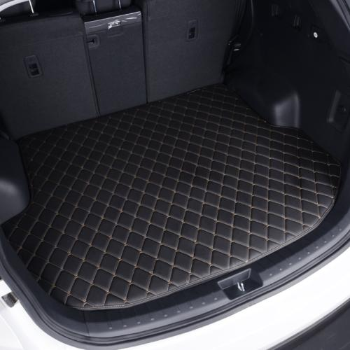 Leather Car trunk mat carpet for Hyundai i30 i40 iX35 iX55 Santafe Tucson Sonata