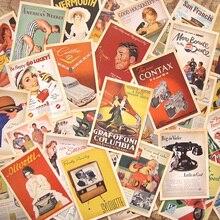 32 стиля, Классические знаменитые плакаты, винтажный стиль, открытка с памятью, набор/Поздравительные открытки/подарочные открытки/рождественские открытки
