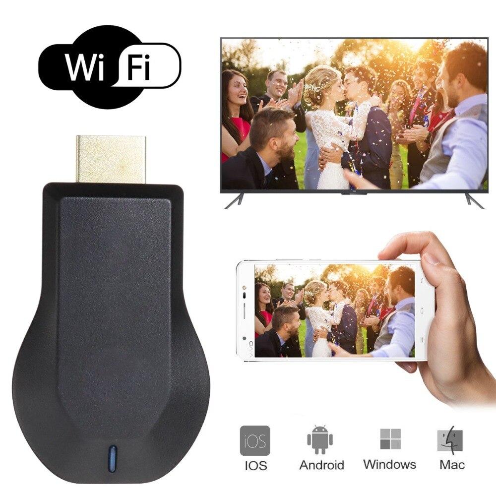TOP 1 Nouvelle TV Bâton Android Intelligent Airplay 1080 P Sans Fil WiFi affichage TV Dongle Récepteur HDMI TV Bâton pour Téléphones Intelligents Tablet PC