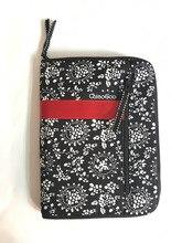 حقيبة مستحضرات التجميل الطباعة للتبادل إبرة حقيبة تخزين إبرة الحال بالنسبة الحياكة و فرشاة للمكياج 25.3 سنتيمتر * 15.3 سنتيمتر
