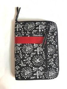 Image 1 - Estojo de agulha para cosméticos, bolsa intercalável com estampa de agulhas para armazenar pincel de maquiagem, tricô e maquiagem, 25.3cm * 15.3cm