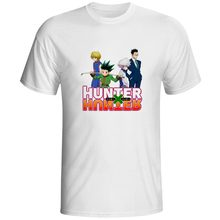 HUNTER x T-shirt HxH Fashion Skate Cool T Shirt Hip Hop Anime Style Women Men Top