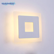 Modern Minimalist Surface Mount 16W Warm White LED White Wall Lamp Ceiling Lamp Bedroom Living Room
