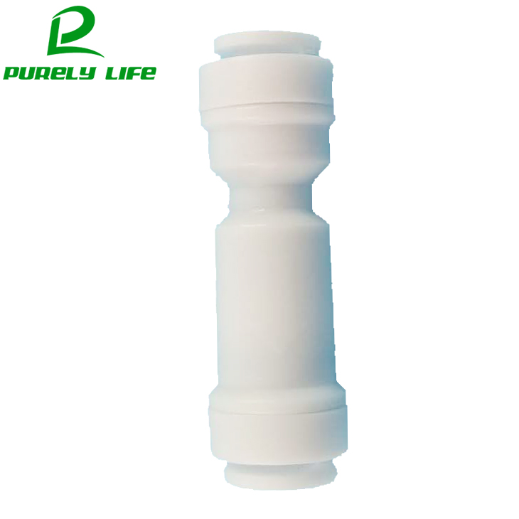 1pcs One-way valve check valve reflux valve non-return valve to prevent fluid backflow no buckle 1/4