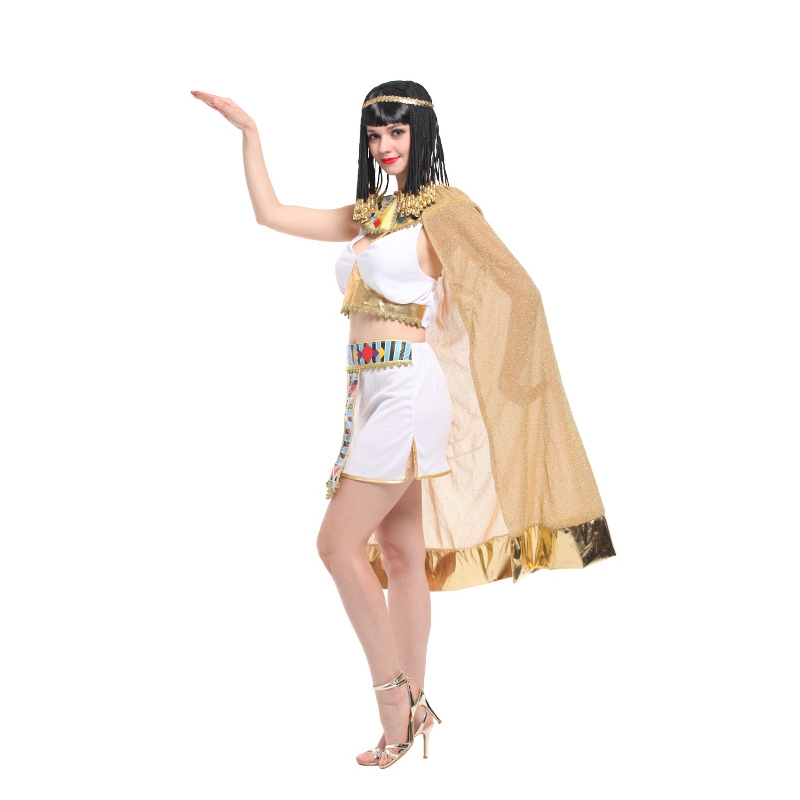 Umorden Sexy Women Cleopatra Cosplay Halloween Egypt Queen Costume Purim Carnival Masquerade Festival Belly Dance Dress in Holidays Costumes from Novelty Special Use