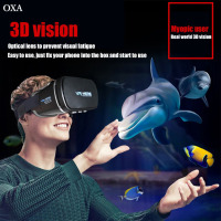 OXA 3D VR Glasses For Smartphone Virtual Reality VR Box Ergonomic Design High Elastic Adjustable Headset