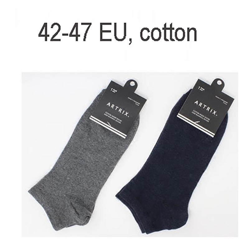 Fcare 10PCS=5 pairs 42-46 EU mens cotton elite calcetines socks  casual plus size low boat socks slippers