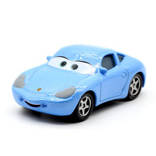 Disney Lightning McQueen Pixar Cars 2 3 Sally Chick Hicks Metal Diecast Toy Car 1:55 Loose Brand New In Stock & Free Shipping