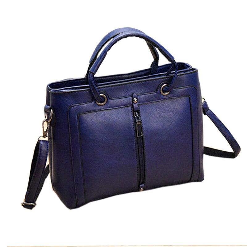 Bolsas Femininas Couro Pu Leather Handbags Designers Famous Brands Zipper Women Shoulder Bag Ladies Handbags Sac Femme