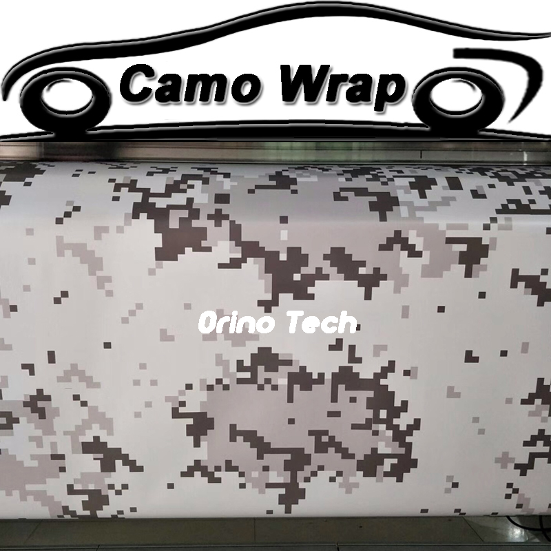 Digital Vinyl Film Camouflage Car Wrap Sticker DIY Styling Pixels Adhesive Scooter Motorcycle Car Sticker Decal Wrapping
