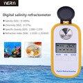 Портативный Цифровой рефрактометр соленометра ручной Цифровой рефрактометр DR202 тестер качества воды для пищевых продуктов