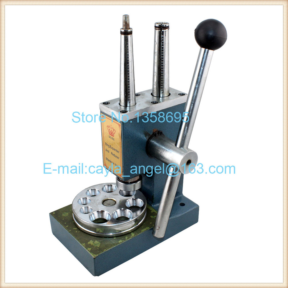 Quality Double Pole Ring Stretcher and Reducer Enlarger Sizing Repair Mandrel Tool Jewelry Making Tools Ring Expander Machine