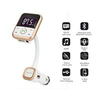 Wireless Bluetooth FM Transmitter Car Kit Radio Receiver USB Charger USB And Micro SD Card AUX