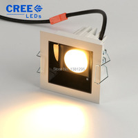 LED Downlight COB 10W 20W 30W Dimmable Square Recessed Ceiling Down light 220V 240V Indoor Lighting Spot light Lamp