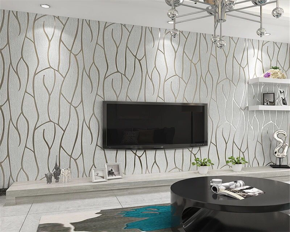 Beibehang Personality Abstract 3D Stereo Striped papel de parede  Wallpaper Walkway Bedroom Living Room TV Wall Wallpaper roll beibehang vertical striped embroidery diamond in the mediterranean bedroom living room wallpaper tv wall papel de parede