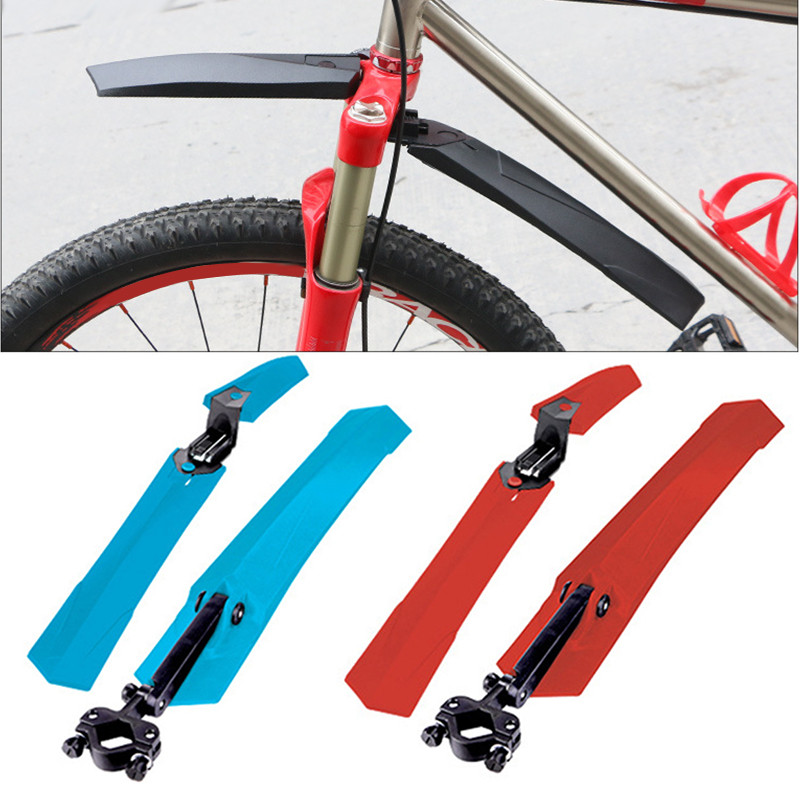 2pcs 26 Inch Bike Mudguar LED Light Front Rear <font><b>Fender</b></font> Mountain Cycling Bike <font><b>Fenders</b></font> Mudguard Set Durable Bicycle <font><b>Fenders</b></font>