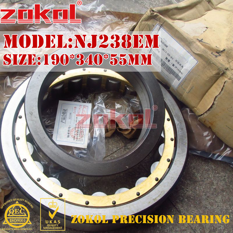 ZOKOL NJ238 E M bearing NJ238EM C3 3G42238EH Cylindrical roller bearing 190*340*55mm parts trimmer trimmer head ikea10pcs set cabinet door drawers refrigerator toilet safety plastic lock for child kid baby safety