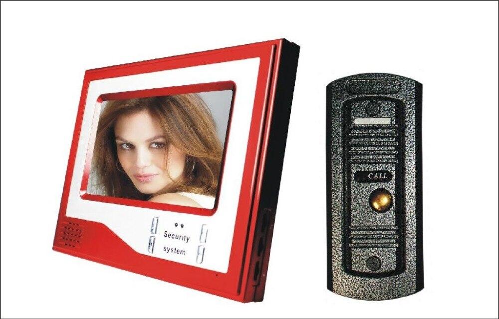 7 inch handfree font b camera b font for villa color video font b door b