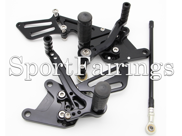 Rider Front Foot Peg Footrest Hanger Assembly for Yamaha YZF-R1 02-03