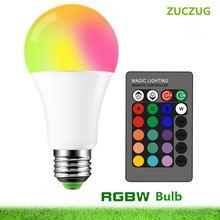 E27 led 3/5/10 Вт 16 цветов волшебная лампа 220 В 110 rgb +
