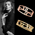 2016 Crystal Love stainless  bangle for women Titanium Stainless Steel Stylish Screws Nail Bangle Women Man Bracelet CC