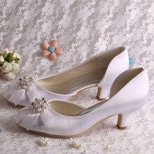 (20 Цвета) Белый Жемчуг Свадебные Туфли Низкий Каблук Насосы Жемчуг Красные Каблуки для Женщин Размер 9
