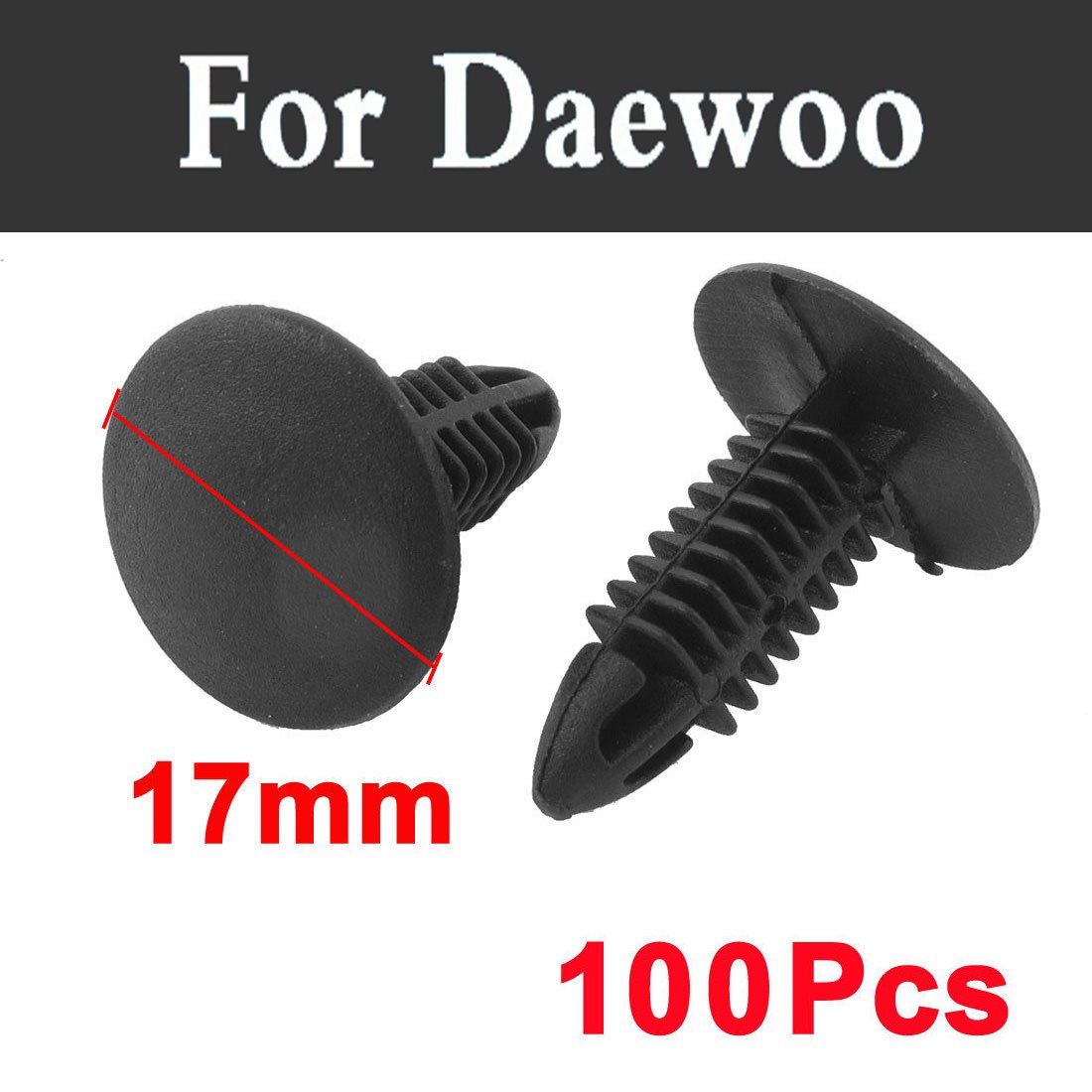 100pcs Car Styling Door Plastic Rivets Fastener Trim Panel Retainer Clips  For Daewoo Matiz Nexia Nubira Sens Tosca Winstorm-in Auto Fastener & Clip  from ...