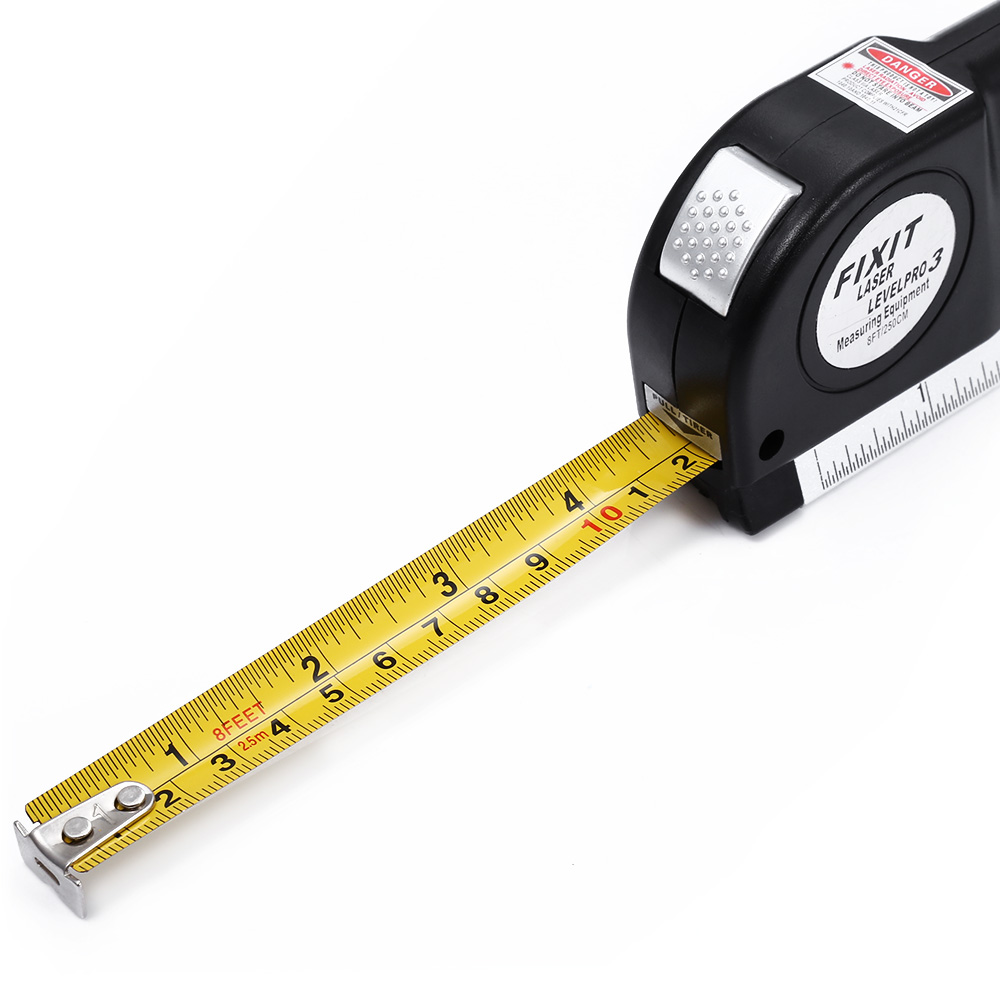 Multifunction laser level marking scale with steel tape measure multifunction laser level marking scale with steel tape measure horizontal vertical cross laser light line levelling instrument in laser levels from tools aloadofball Images