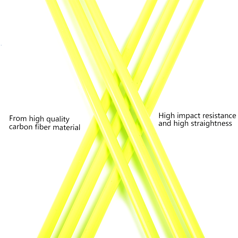 30-Inch-12-Pcs-Yellow-Carbon-Arrow-Black-Yellow-Feather-Replaceable-Arrow-For-Composite-Bow-Hunting(4)