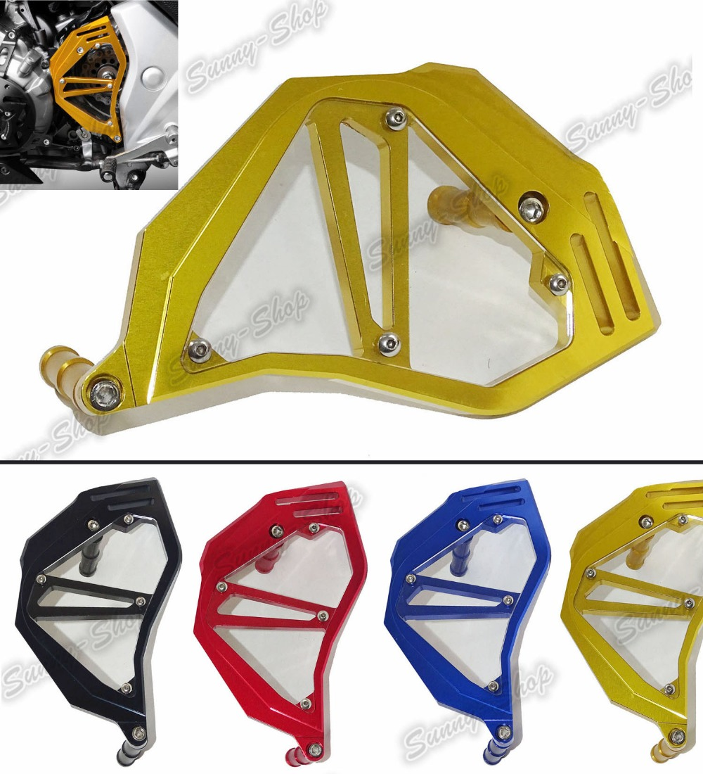 waase Aluminum Front Sprocket Chain Guard Cover Left Side Engine For HONDA NC750S NC750X NC750 S X 2013 2014 2015 2016 mgoodoo cnc aluminum motorcycle left engine guard chain protector front sprocket cover panel for yamaha r3 r25 2014 2015 2016